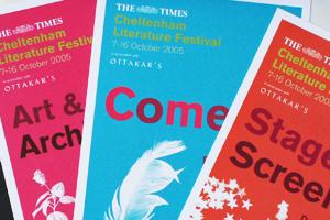 Cheltenham Literature Festival Design