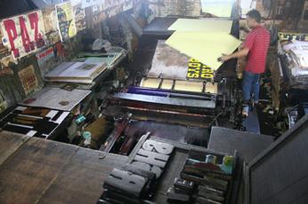 Lambe Lambe, printing Sao Paulo