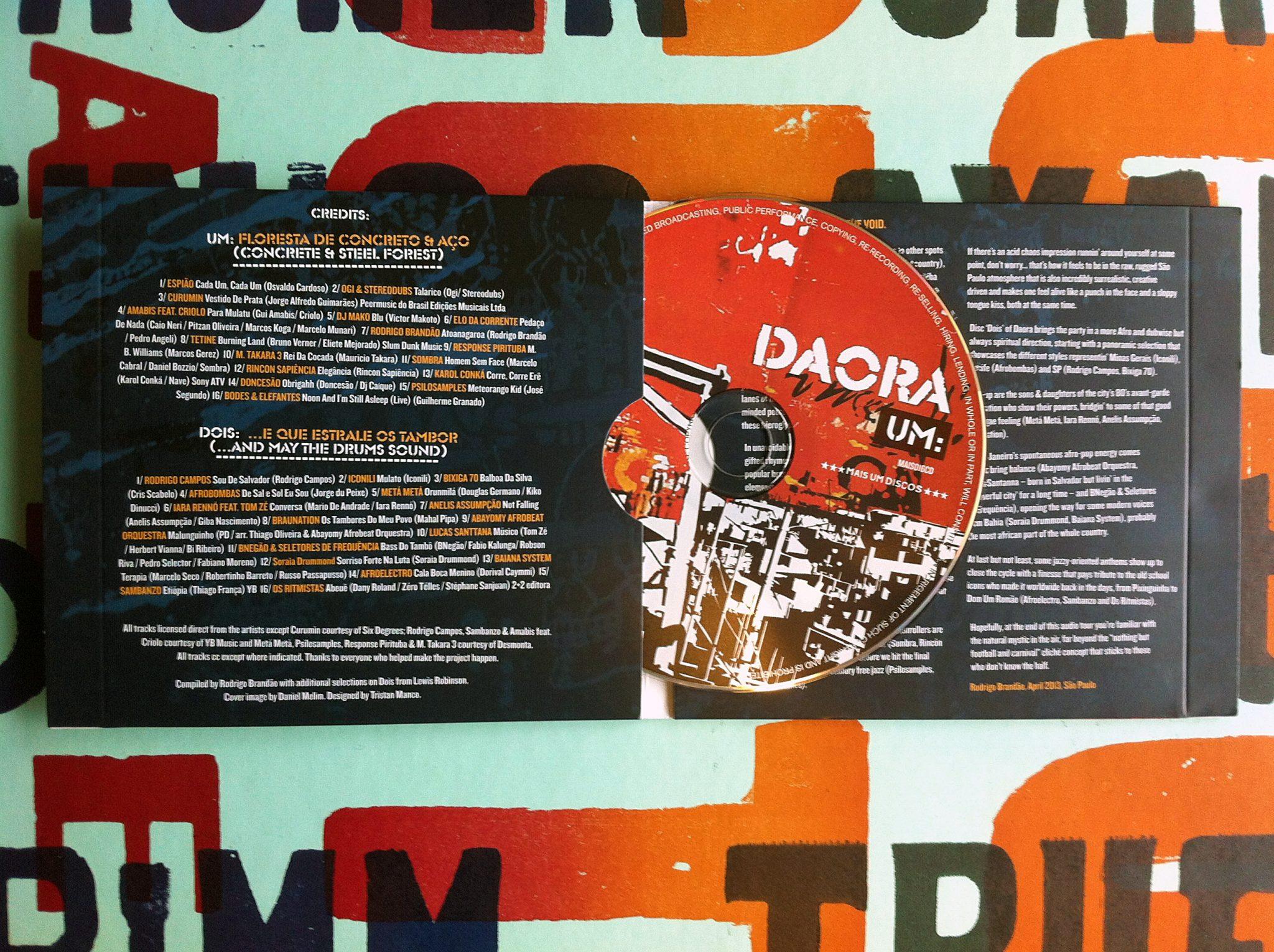 Daora Music Packaging, Mais Um Discos