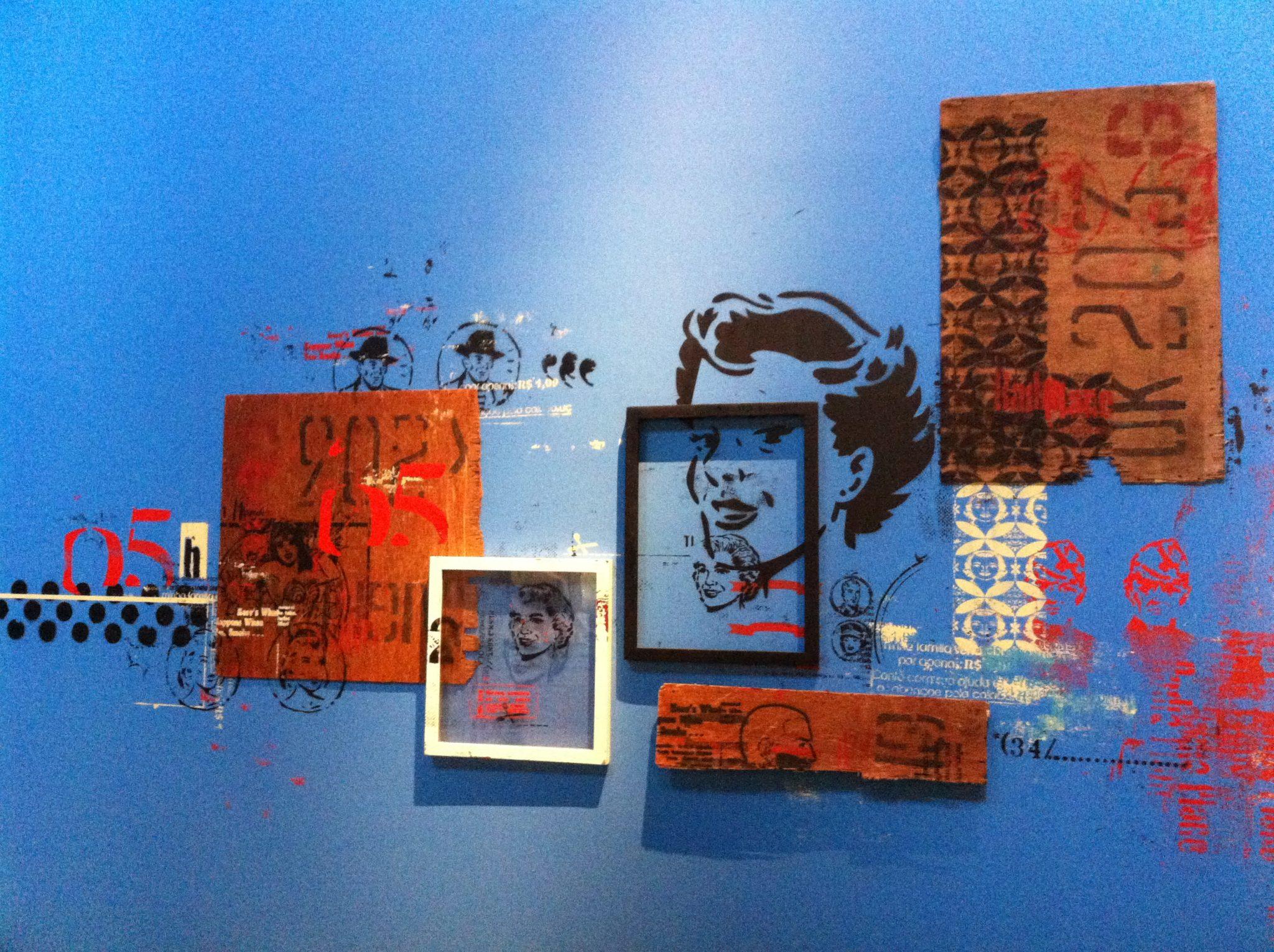 Wahaca Islington - Restaurant art installation Daniel Melim
