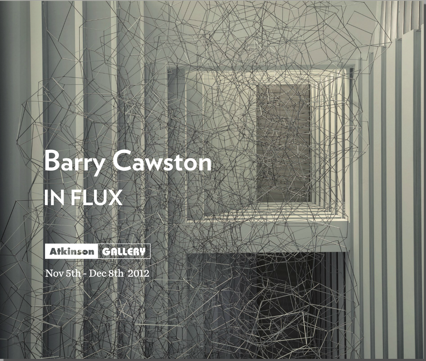 Barry Cawston - In Flux Book design