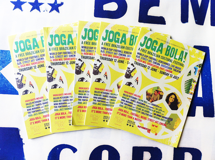 Joga Bola Festival design for Rich Mix