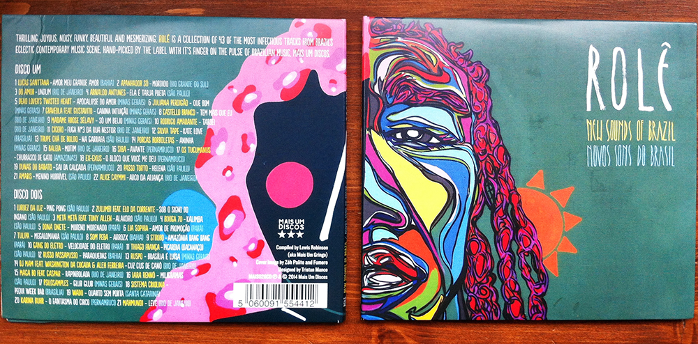 Role - New Sounds of Brazil - Music Packaging