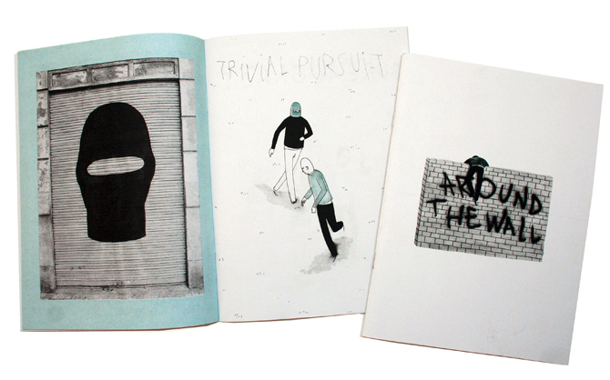 Around_the_wall - Zine by Escif