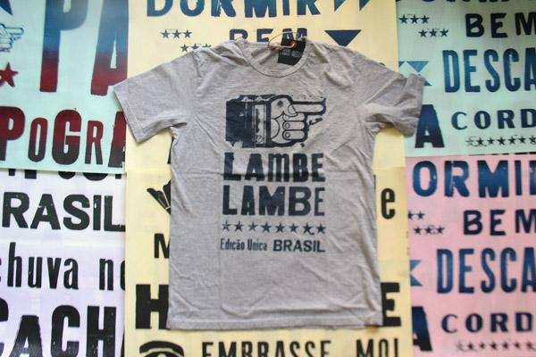 Lambe Lambe T-shirt range