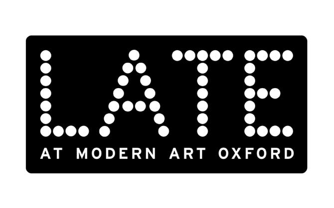 Late at Modern Art Oxford - logotype design