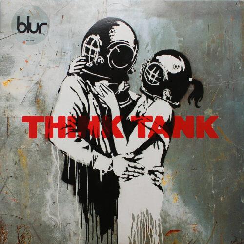Think Tank Blur, Banksy Graphic Design