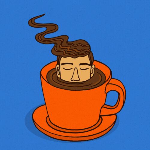 Cafezinho illustration by Tristan Manco