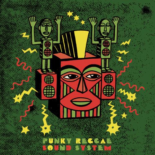 Punky Reggae Sound System illustration